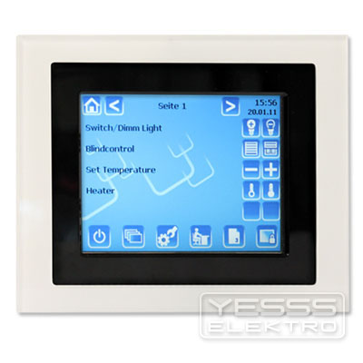 BEG Glasrahmen Control Touch-Panel