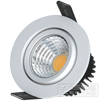 LUXNA LIGHTING Downlight LED Downlight schwenkbar 8W 6500 K DC weiss