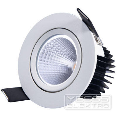 LUXNA LIGHTING Downlight LED Downlight schwenkbar AC weiss