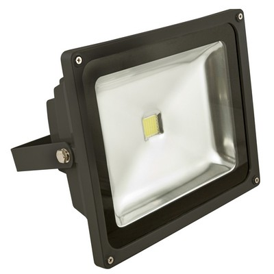 LUXNA LIGHTING Strahler/Scheinwerfer LED 50 W, 3200k IP65 grau