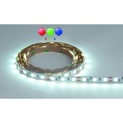 LUXNA LIGHTING LED-Lichtschlauch/-band LED Strip 5 Meter Rolle RGB IP20 24V DC