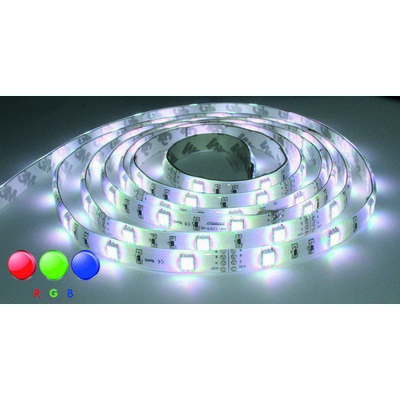LUXNA LIGHTING LED-Lichtschlauch/-band LED Strip 5 Meter Rolle RGB IP65 24V DC