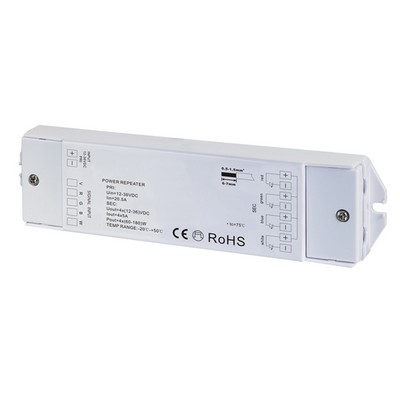 LUXNA LIGHTING LED-Steuerung Power Repeater RGB-W