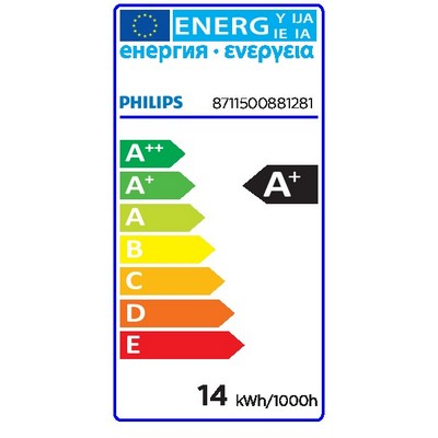 Philips Leuchtstofflampe MASTER TL5 HE Eco MASTER TL5 HE Eco - Fluorescent lamp - Lampenleistung EM 25°C,nominal: