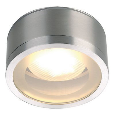 YESSS Light Wandleuchte Aussenleuchten ROX CEILING GX53 OUT, alu brushed, max. 9W ESL, IP44